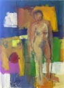 Figurative gesture painting